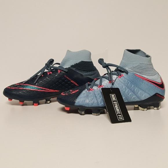 30b86ba1b Nike Shoes | Hypervenom Phantom 3 Df Fg Soccer Cleats Kids Grey ...